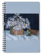 Daisies In Still Life Spiral Notebook