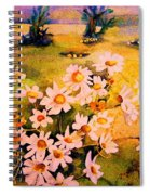Daisies In The Sun Spiral Notebook