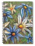 Daisies Pastel Spiral Notebook
