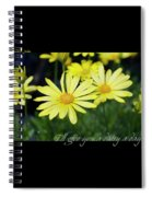 Daisy A Day Spiral Notebook