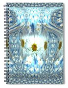 Daisy Abstract Spiral Notebook