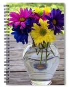 Daisy Crazy Spiral Notebook