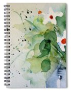 Daisy In The Vase Spiral Notebook