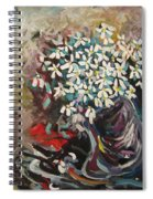 Daisy In Vase3 Spiral Notebook