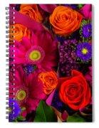 Daisy Rose Bouquet Spiral Notebook