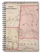 Dakota And Wyoming Spiral Notebook