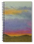 Dakota Sunset Glow Spiral Notebook