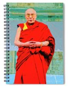 Dalai Lama Spiral Notebook