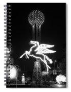 Dallas Pegasus Reunion 121517 Spiral Notebook