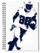 Dallas Cowboys Dez Bryant Spiral Notebook
