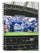 Dallas Cowboys Take The Field Spiral Notebook