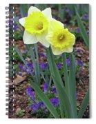 Dallas Daffodils 78 Spiral Notebook