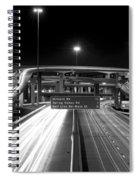 Dallas High Five Bw Spiral Notebook