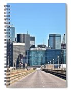 Dallas In The Rear View Spiral Notebook