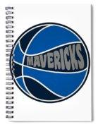 Dallas Mavericks Retro Shirt Spiral Notebook
