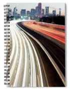Dallas Morning Rush 122117 Spiral Notebook