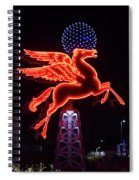 Dallas Pegasus V1 121417 Spiral Notebook