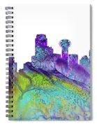 Dallas Skyline 4 Spiral Notebook