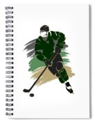 Dallas Stars Player Shirt Spiral Notebook