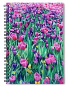 Dallas Tulips Spiral Notebook