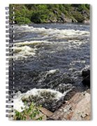 Dalles Rapids French River I Spiral Notebook