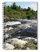 Dalles Rapids French River II Spiral Notebook