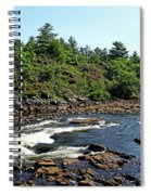 Dalles Rapids French River Ontario Spiral Notebook