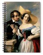 Dalliance Spiral Notebook