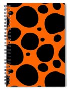 Dalmatian  Black Pattern 03-p0173 Spiral Notebook