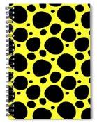 Dalmatian  Black Pattern 05-p0173 Spiral Notebook