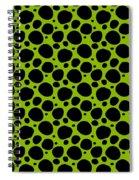 Dalmatian  Black Pattern 09-p0173 Spiral Notebook