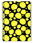 Dalmatian Pattern With A Black Background 05-p0173 Spiral Notebook
