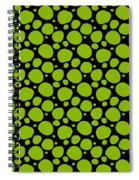 Dalmatian Pattern With A Black Background 09-p0173 Spiral Notebook