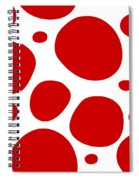 Dalmatian Pattern With A White Background 02-p0173 Spiral Notebook