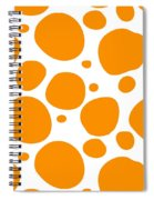 Dalmatian Pattern With A White Background 03-p0173 Spiral Notebook