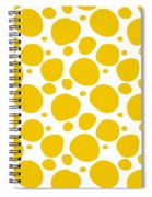 Dalmatian Pattern With A White Background 05-p0173 Spiral Notebook