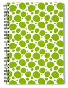 Dalmatian Pattern With A White Background 09-p0173 Spiral Notebook