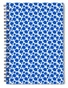 Dalmatian Pattern With A White Background 18-p0173 Spiral Notebook