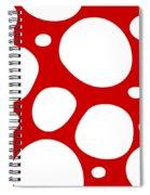 Dalmatian  White Pattern 02-p0173 Spiral Notebook