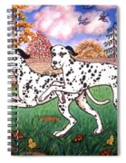 Dalmatians Two Spiral Notebook