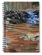 Dam Beavers Spiral Notebook