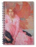 Dame En Rose Spiral Notebook