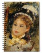 Dame En Toilette De Ville 1875 Spiral Notebook
