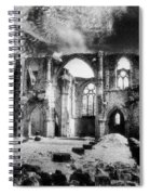 Dammarie Les Lys Abbey Spiral Notebook