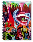 Damnation Of The Evil Spiral Notebook