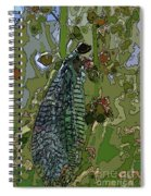 Damsel Fly Spiral Notebook