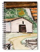 Dan Lawson Barn Spiral Notebook
