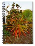 Dana Point Garden  Spiral Notebook