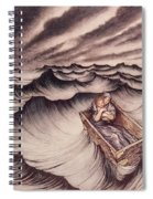 Danae And Her Son Perseus Put In A Chest And Cast Into The Sea Spiral Notebook