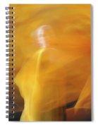 Dance Of Fire Spiral Notebook